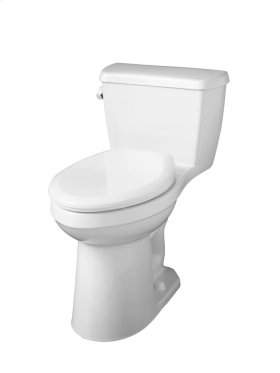 """White Avalanche® 1.28 Gpf 12"""" Rough-in One-piece Compact Elongated Ergoheight Toilet"""