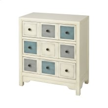 Vieira Antique White Body Chest