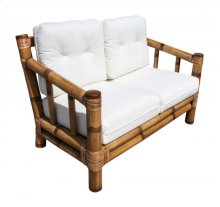 Kauai Loveseat w/beige cushion