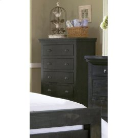 Chest - Distressed Black Finish