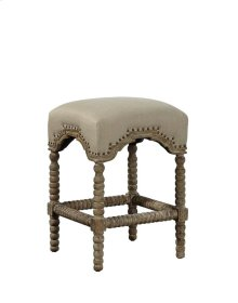 Backless Castle Counter Stool