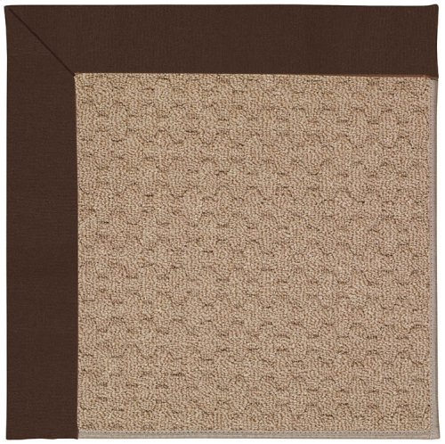 Creative Concepts-Grassy Mtn. Canvas Bay Brown Machine Tufted Rugs