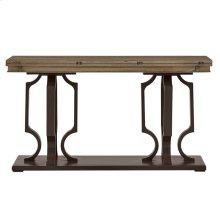 Virage Flip Top Console Table in Basalt