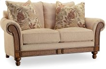 Windward Dart Honey Loveseat
