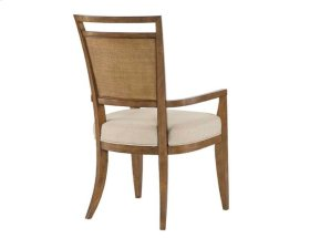 Upholstered Back Arm Chair - Kd