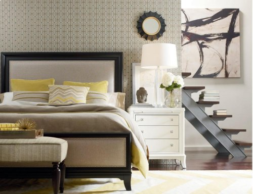 Manuscript Upholstered Headboard (Queen)
