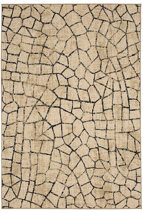 Kismet Fragment Ivory Rectangle 5ft 3in x 7ft 10in