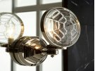 Wall Sconce, Less Lens - Nickel Silver Product Image