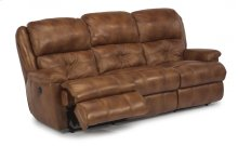 Cruise Control Leather Power Reclining Sofa