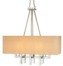 Eclipse Rectangular Chandelier - 38w x 15d x 39h