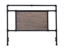 Elkton Headboard - Queen, Matte Black Finish