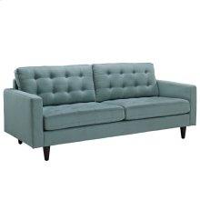 Empress Upholstered Fabric Sofa in Laguna