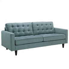 Empress Upholstered Fabric Sofa in Laguna Product Image