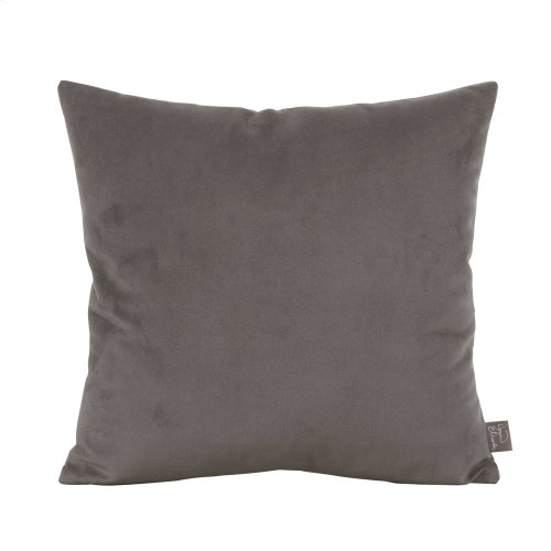 "16"" x 16"" Pillow Bella Pewter"