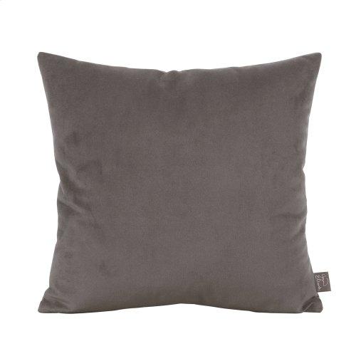 """16"""" x 16"""" Pillow Bella Pewter"""