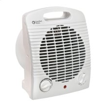 CZ35 Radiant Electric Wire Element Personal Fan Forced Heater, White