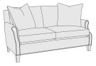 Keenan Loveseat in Mocha (751) Product Image