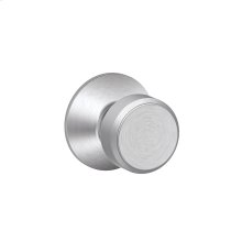 Bowery Knob Hall & Closet Lock - Satin Chrome