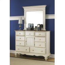 Pine Island Mule Dresser - Old White