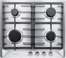 "24"" 4-Burner KM 360 G Gas Cooktop - Gas Cooktop Stainless"