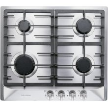 """24"""" 4-Burner KM 360 G Gas Cooktop - Gas Cooktop Stainless"""