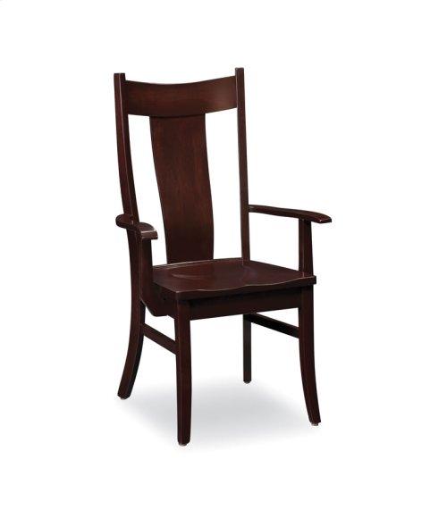 Arnold Arm Chair, Fabric Cushion Seat