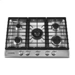30-Inch 5 Burner Gas Cooktop, Architect(r) Series Ii - Stainless Steel