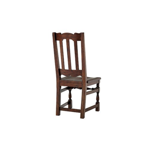The Antique Kitchen Dining Chair - Solid Seat
