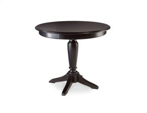 Bar Height Pedestal Table - Complete
