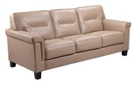 5097 Demoine Chair Ileather Rx490 Taupe Product Image