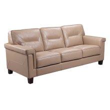 5097 Demoine Chair Ileather Rx490 Taupe
