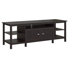 Broadview TV Stand for TV's up to 75 inches - Espresso Oak