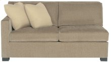 Kelsey Left Arm Loveseat in Mocha (751)