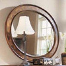 Braided Oval Mirror