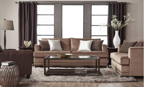 13325 Empire Toffee Loveseat Only