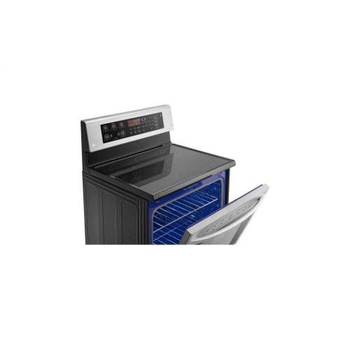 6.3 cu. ft. Electric Single Oven Range with True Convection and EasyClean® - CLOSEOUT MODEL