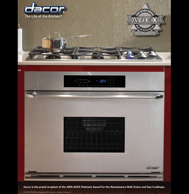 36 wall oven kitchen remodel hidden additional renaissance 36 eors136 in by dacor pleasant hill ca