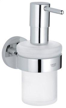 Essentials Soap dispenser with holder