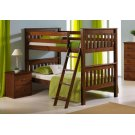 Twin/ Twin Mission Bunkbed Product Image