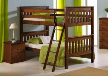 Twin/ Twin Mission Bunkbed