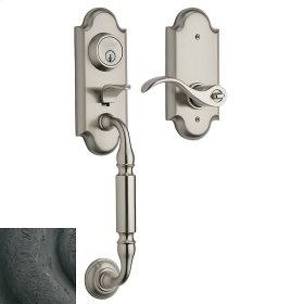 Distressed Oil-Rubbed Bronze Ashton Two-Point Lock Handleset