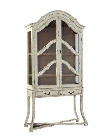 White Fayette Cabinet