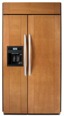 """Side-by-Side Dispensing 25.3 cu. ft. 42"""" Width Requires Custom Panels and Handles"""