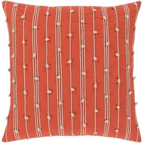 "Accretion ACT-005 22"" x 22"" Pillow Shell with Down Insert"