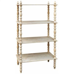 CRESTVIEW COLLECTIONSLyndsay Antiqued Etagere