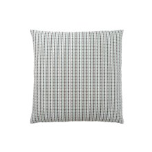 "PILLOW - 18""X 18"" / LIGHT BLUE / GREY ABSTRACT DOT / 1PC"