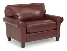 Westside Leather Chair and a Half