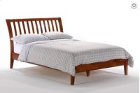 Queen Nutmeg Bed Product Image