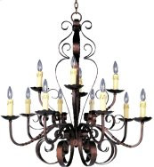 Aspen 12-Light Chandelier