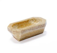 Tatum Geometric Bowl - Honey Onyx